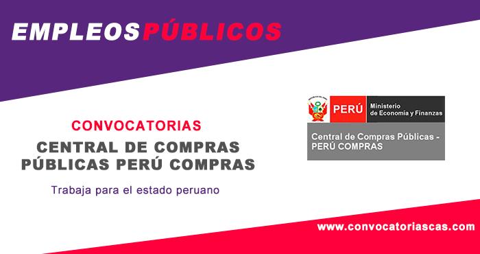 Convocatoria peru compras 2018 concursos p blicos cas - Central de compras web ...